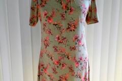 Sommer-Jersey-Kleid